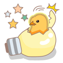 Chicken and Egg sticker #475807