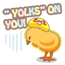 Chicken and Egg sticker #475809