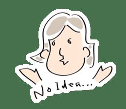 Yuruchara w/English expression sticker #477367