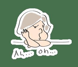 Yuruchara w/English expression sticker #477382