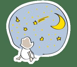 Yuruchara w/English expression sticker #477391