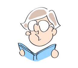 Yuruchara w/English expression sticker #477392