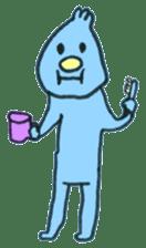 Ugai-kun(English version) sticker #477527
