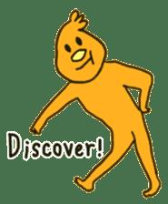 Ugai-kun(English version) sticker #477553