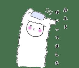 alpaca sticker #477927