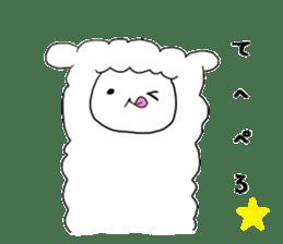 alpaca sticker #477929