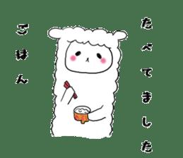 alpaca sticker #477931