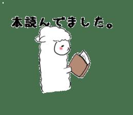 alpaca sticker #477933