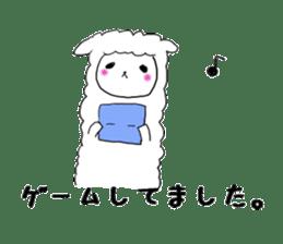 alpaca sticker #477934