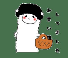 alpaca sticker #477935