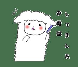 alpaca sticker #477940