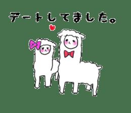 alpaca sticker #477943