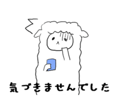 alpaca sticker #477946