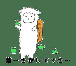 alpaca sticker #477949