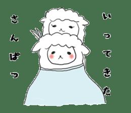 alpaca sticker #477956