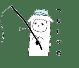 alpaca sticker #477958