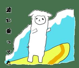 alpaca sticker #477959
