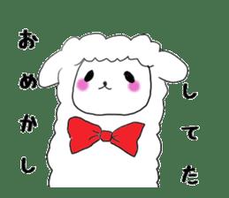 alpaca sticker #477960