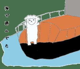 alpaca sticker #477961