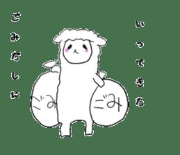 alpaca sticker #477964