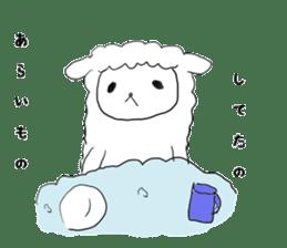 alpaca sticker #477965