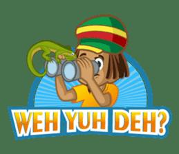 IRIE IDRIN (Jamaican patwa stickers) sticker #478214