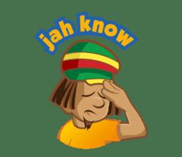 IRIE IDRIN (Jamaican patwa stickers) sticker #478216