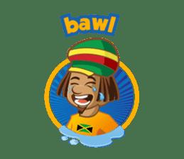 IRIE IDRIN (Jamaican patwa stickers) sticker #478217