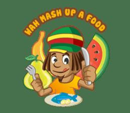 IRIE IDRIN (Jamaican patwa stickers) sticker #478220