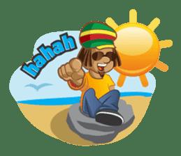 IRIE IDRIN (Jamaican patwa stickers) sticker #478230