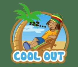 IRIE IDRIN (Jamaican patwa stickers) sticker #478231