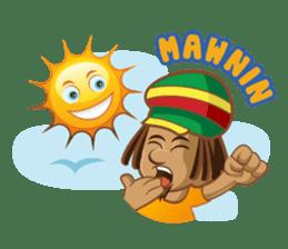 IRIE IDRIN (Jamaican patwa stickers) sticker #478232