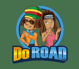 IRIE IDRIN (Jamaican patwa stickers) sticker #478235