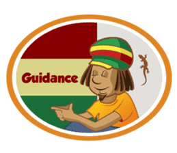 IRIE IDRIN (Jamaican patwa stickers) sticker #478238