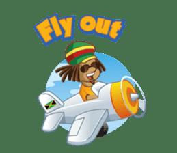 IRIE IDRIN (Jamaican patwa stickers) sticker #478245