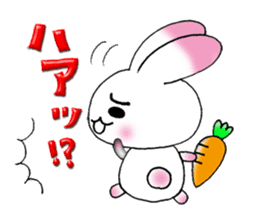 A lovely rabbit sticker #478571