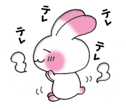A lovely rabbit sticker #478598