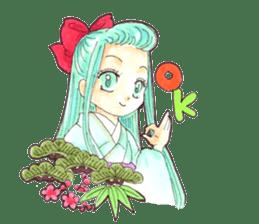 Yoki Koto Kiku sticker #478647