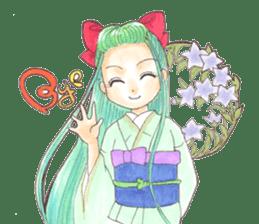 Yoki Koto Kiku sticker #478677