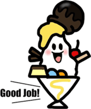 King of the parfait! sticker #479098