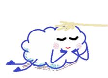 Little Cloud sticker #481410