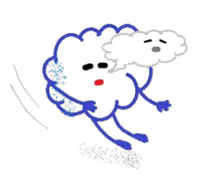 Little Cloud sticker #481423