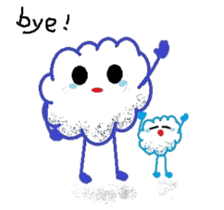 Little Cloud sticker #481427