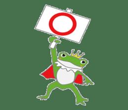 frog prince sticker #481859