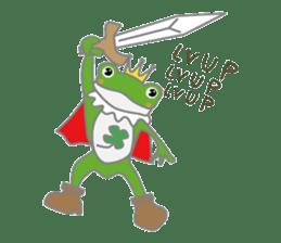 frog prince sticker #481861