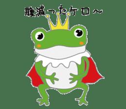frog prince sticker #481868