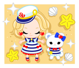 Marine Girl sticker #483390