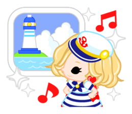 Marine Girl sticker #483393