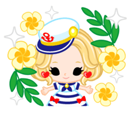 Marine Girl sticker #483396