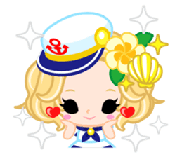 Marine Girl sticker #483402